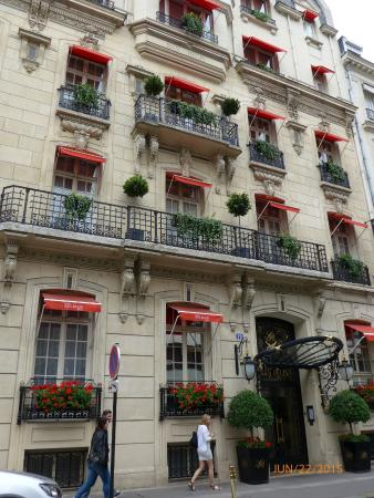 hotel san regis picture of hotel san regis paris