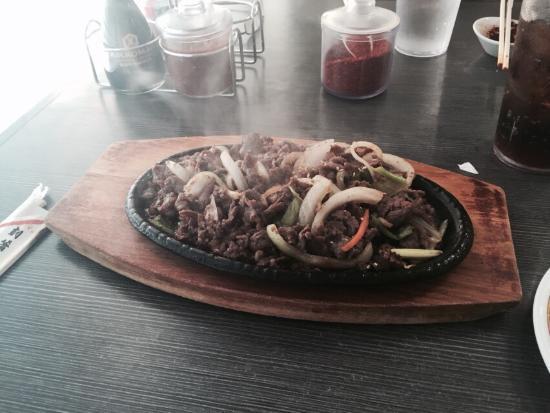 Shila Korean Restaurant: Bulgogi and Mandy