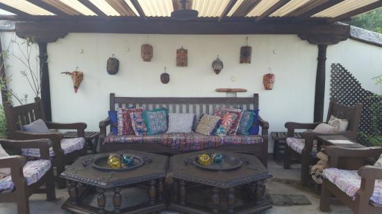 Hotel Sor Juana : roof top