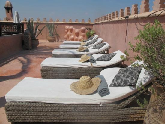 Zamzam Riad: The Roof Terrace