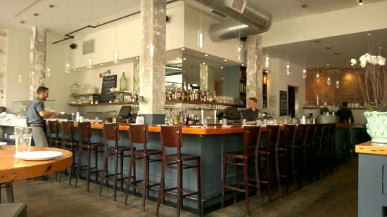 Bar area at The Kitchen on 16th Street Mall - Picture of The ...