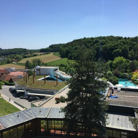 Hotel Kowald: view from the room