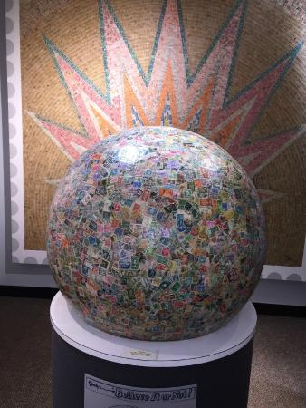World's Largest Ball of Stamps at Boys Town