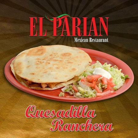 El Parian Mexican Restaurant: Menu items