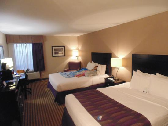 BEST WESTERN Bayou Inn: spotless rooms