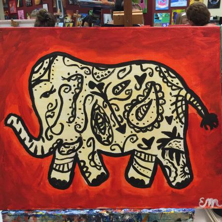 Image result for Paisley Painting in Orlando