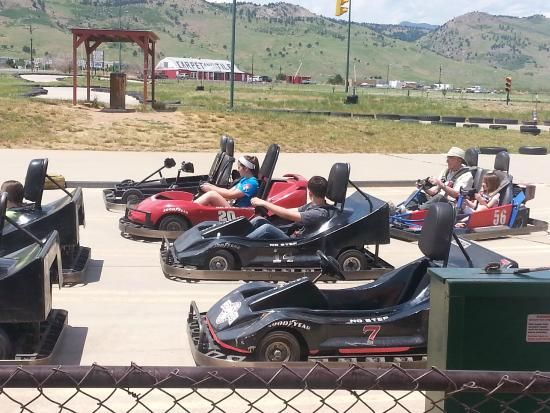 Gateway Park Fun Center : Big kid and adult Go-Karts