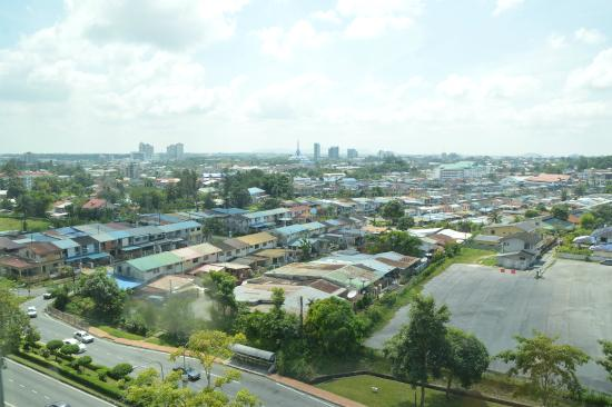 Citadines Uplands Kuching: View from the windows