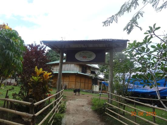 "Bunaken SeaGarden Resort: Entrance from the ""main"" road"
