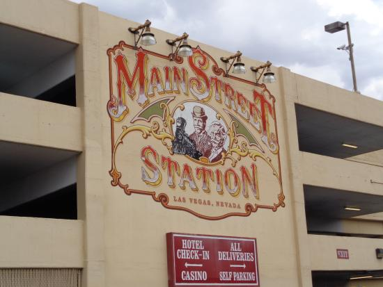 Parking Garage Sign Picture Of Main Street Station Hotel Casino
