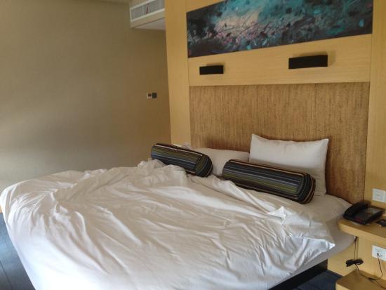 Aloft Yancheng: Big bed