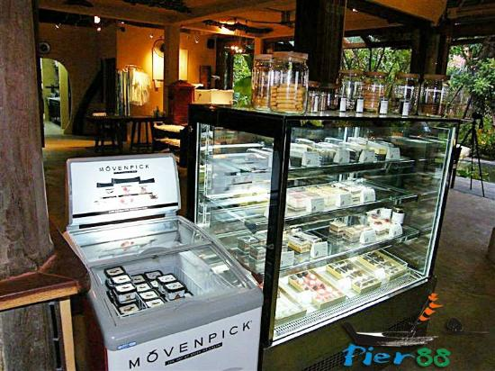 Pier 88 Seafood Terminal: Bakery and pastry, Ice Cream Movenpick