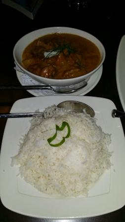 Paladarr Thai Issan: Lamb red curry