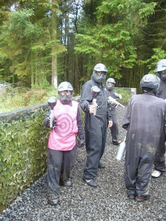 Delta Force Paintball Edinburgh: Ready for action!