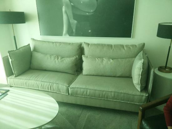 Delano Las Vegas Sofa In The Living Room