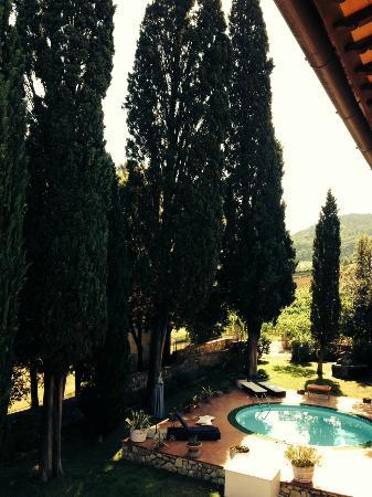 Fattoria Villa Le Sorgenti : camere con vista