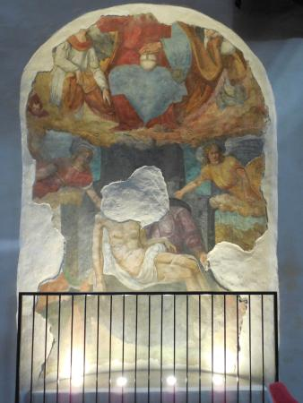 สโปลโต, อิตาลี: Ex Chiesa di San Nicolò oggi teatro - dipinto 3