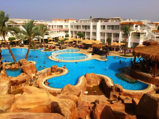 Sharming Inn Hotel: Udendørsområdet