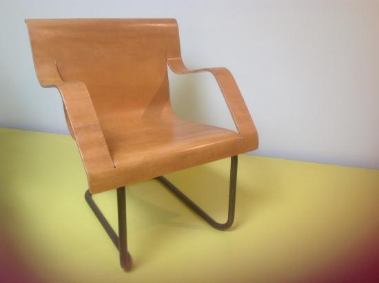 The Alvar Aalto Museum: Chair