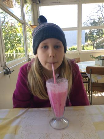 Oppi Stoep: Milkshake in winter