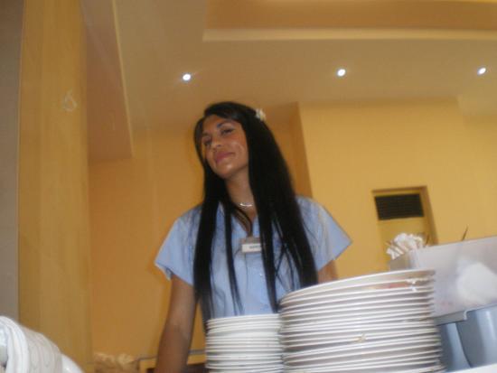 Marianna Palace Hotel: Это Мaria - самая красивая девушка из персонала!!!