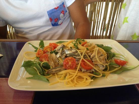 Bagni d'Arienzo: Spaghetti alle alici