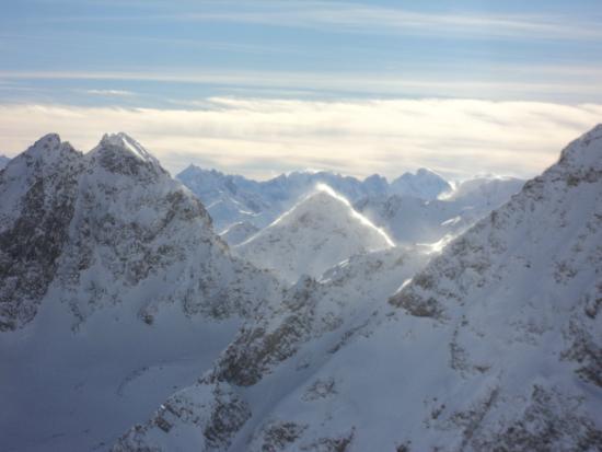Piz Bernina: горы
