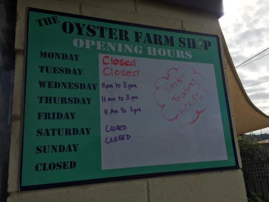 The Oyster Farm Shop : Kangaroo Island Fresh Seafoods