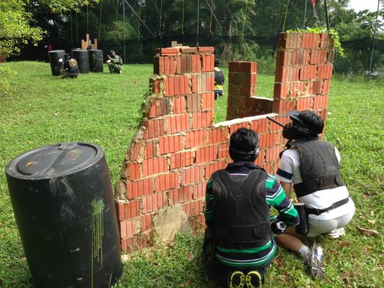 Джеронг, Сингапур: Red Dynasty Paintball Park (Fairway Club, Jurong)