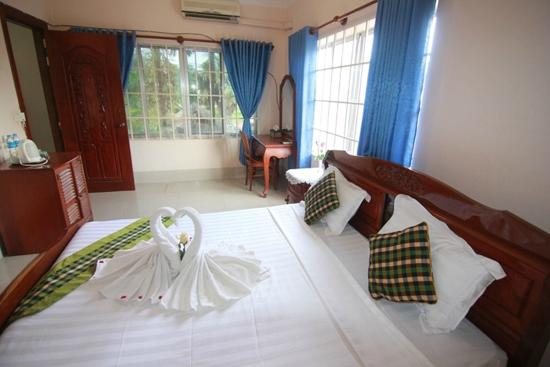 Siem Reap Riverside: Deluxe Double Room