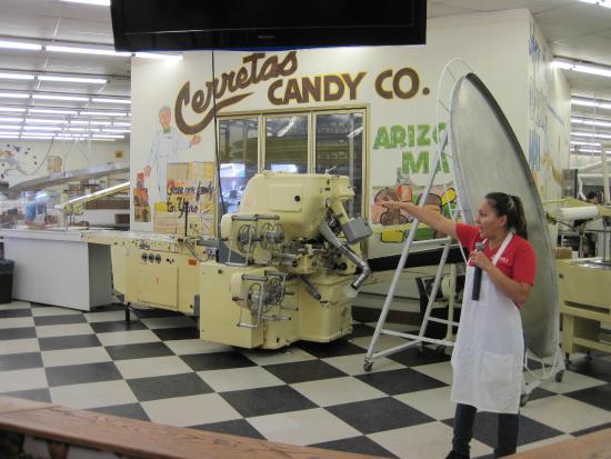 Cerreta Candy Co.: Our tourguide