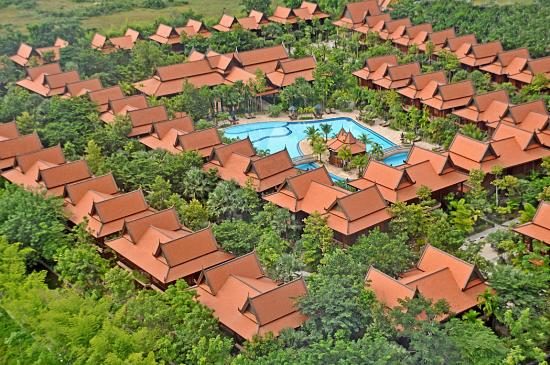 Sokhalay Angkor Villa Resort: Aerial Villas