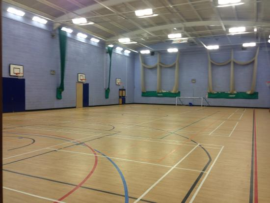 Trentham Community Sports Centre: 4-court State of the art Sports Hall
