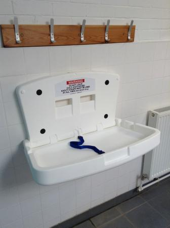 Trentham Community Sports Centre: Baby changing facilities now available
