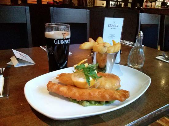 Seagoe Hotel: Fish and chips