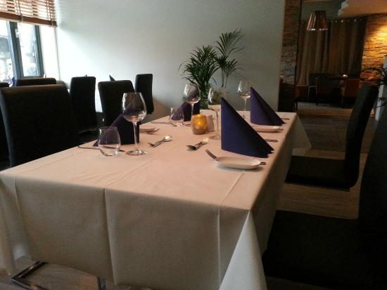 Restaurant Gorvell: A table in Gorvel restaurant