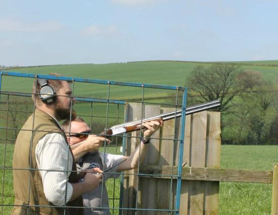‪‪Pensford‬, UK: Clay shooting‬