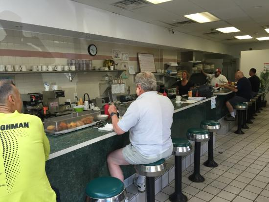 Marie S Sandwich Diner Counter Seating Trumbull Ct
