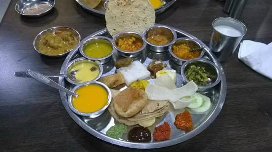 Golden Star Thali