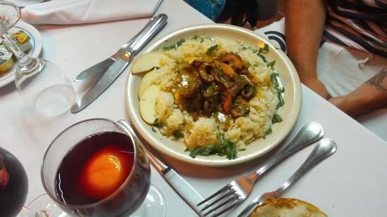 Restaurante Angra: octopus au curry