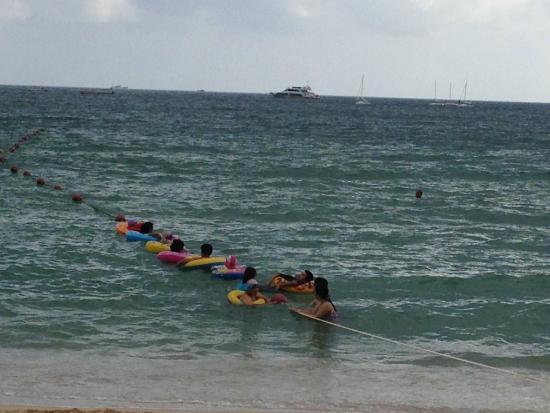 Resort Intime Sanya: Пляж