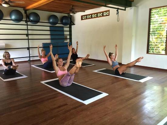 Pilates Nosara: june 2015 teacher trainees!