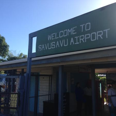 "Daku Resort: The ""huge"" airport at Savusavu :)"
