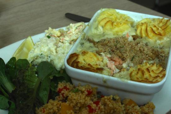 The Pantry: salmon and cod pie