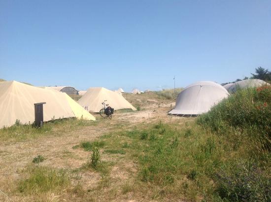 Camping Stortemelk: camping site