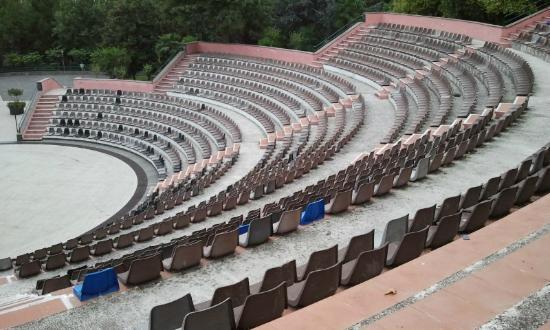 Zafferana Etnea, Ιταλία: Anfiteatro al Parco Comunale di Zafferana