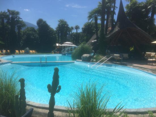 Albergo Losone: The very nice pool