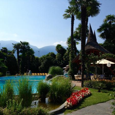 Albergo Losone: Garden