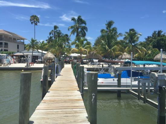 Jensen's Marina Boat Rentals: The dock