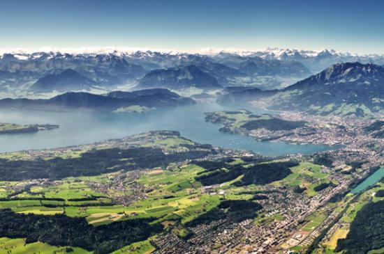 Luzern, Schweiz: Lake Lucerne Region